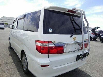 Toyota Alphard. The VW Transporter Campervan alternative.