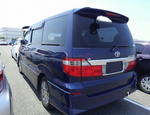 Toyota Alphards – New Shipment arriving in October